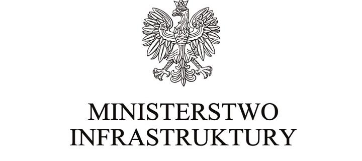 Ministerstwo Infrastruktury - logotyp
